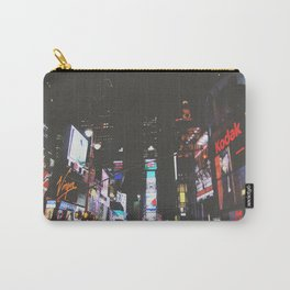 Evening Glow - Times Square Carry-All Pouch