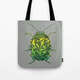 beetle_green Tote Bag