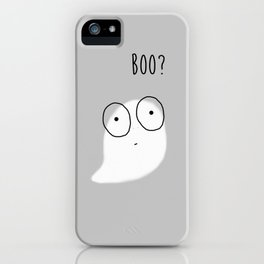 Boo? iPhone Case