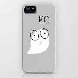 Boo? iPhone Case