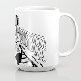 Japanese School Girls  Coffee Mug