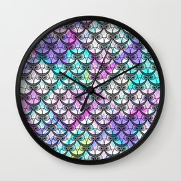 Frowning owls Wall Clock
