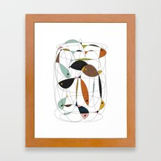 Fishing net Framed Art Print