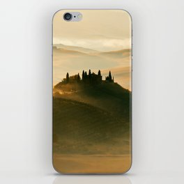 Sunrise in Val D'Orcia iPhone Skin