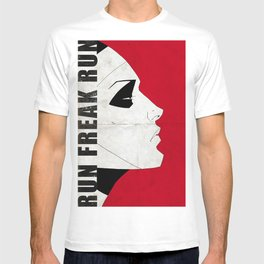 Run Freak Run - Red T-shirt