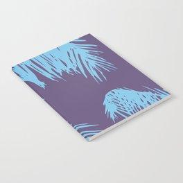 Ultra Violet Palm Print Notebook