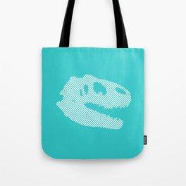 Tyrannosaurus Rex Skull Tote Bag