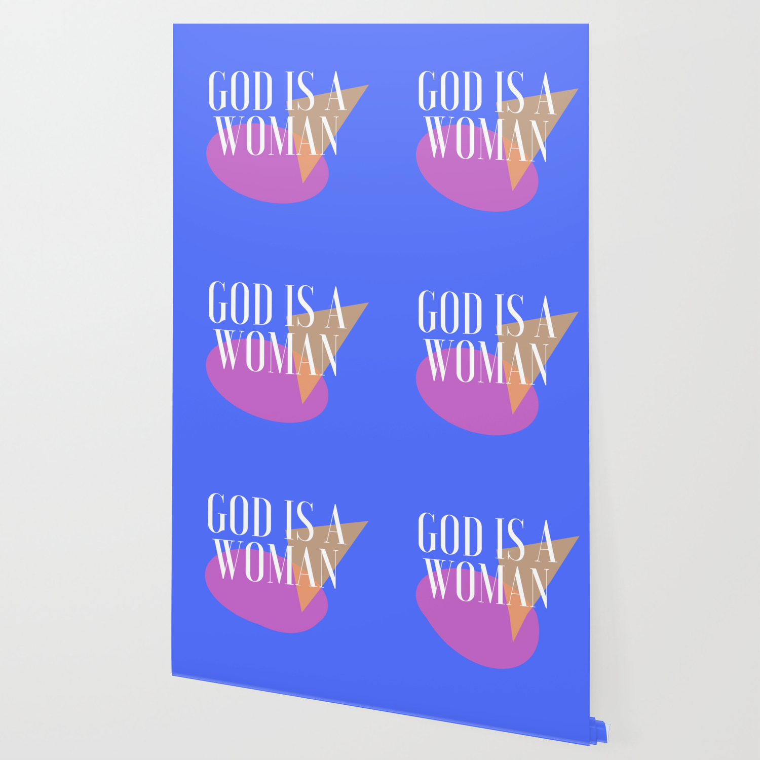 God Is A Woman 4 Wallpaper By Valourine Society6