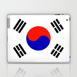 South Korean Flag Logo Laptop & iPad Skin