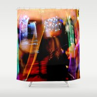 botanical Shower Curtains featuring Botanical by Honne Boutique