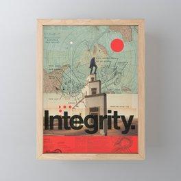 Integrity Framed Mini Art Print