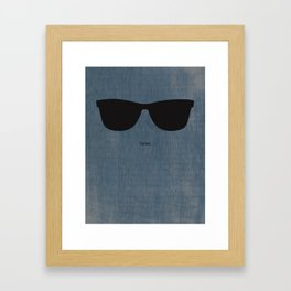 Dylan Shades Framed Art Print