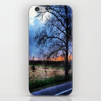 poland iPhone & iPod Skins featuring Bye Bye Poland by Camille Renee