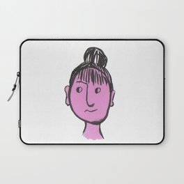 """Auntie Rosie"" woman with a bun Laptop Sleeve"