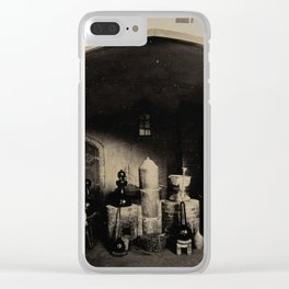 Alchemical Laboratory 1904 World's Fair, St. Louis Clear iPhone Case