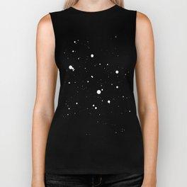 Dark star in space. Biker Tank