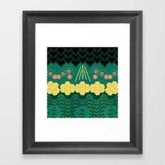 HARMONY pattern Framed Art Print