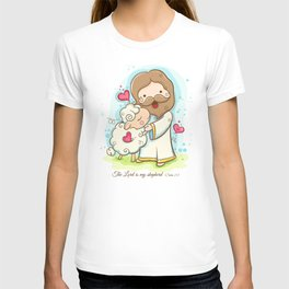 Lord is my shepherd T-shirt