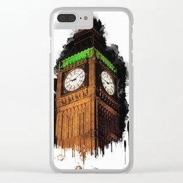 Big Ben in London Clear iPhone Case