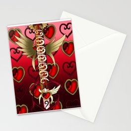 Fusion Keyblade Guitar #139 - Lurebreaker & Lost Memory Stationery Cards