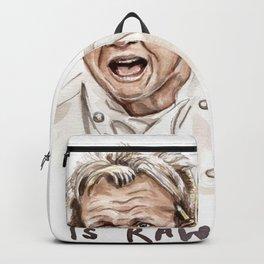 Gordon Ramsay - It's RAW Illustration Backpack