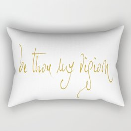 BE THOU MY VISION. JUBIL PRINTS Rectangular Pillow