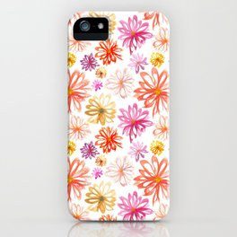Painted Floral I iPhone Case
