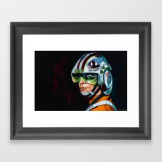 The Fallen Framed Art Print