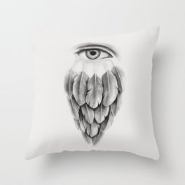 Life Under His Eye Throw Pillow