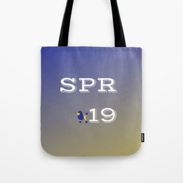 Spring 19 Blue and Gold Limited Edition Tote Bag