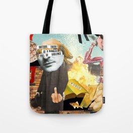 Violent World Tote Bag
