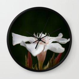 broken Flowers Wall Clock