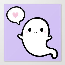Cutie Ghost 02 Canvas Print