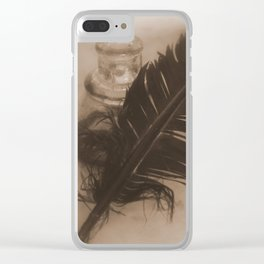 Write me a Sonnet Will Clear iPhone Case