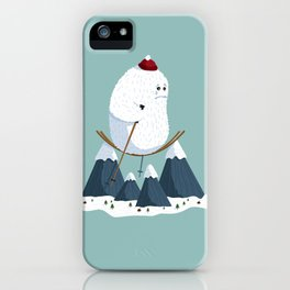 No slope, no hope iPhone Case
