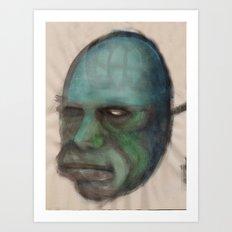 Golem Art Print