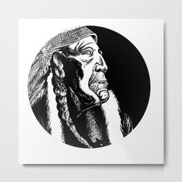 American Founder Metal Print