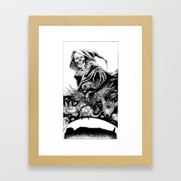 Tarot - Death Framed Art Print