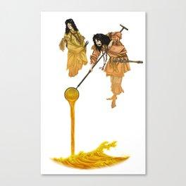 Gurasu Gods Canvas Print