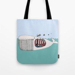 I valfiskens mage Tote Bag