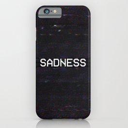 SADNESS iPhone Case