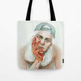 hold my dark thoughts Tote Bag