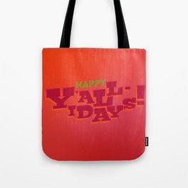 Happy Y'allidays Tote Bag