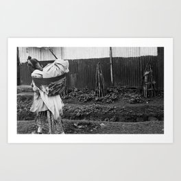 Ethiopian Woman Art Print