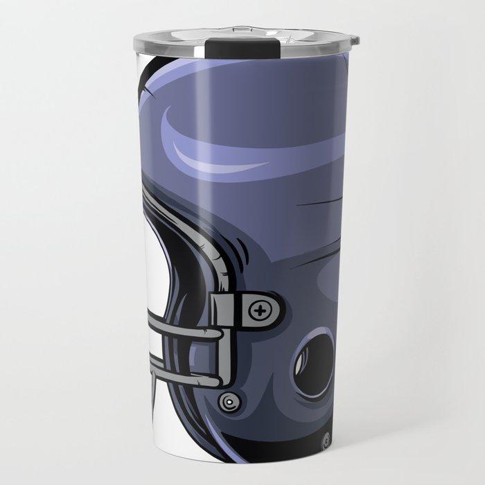 Gridiron Football Helmet Travel Mug
