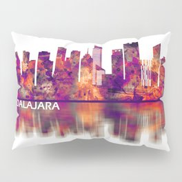 Guadalajara Mexico Skyline Pillow Sham