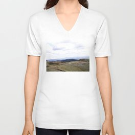 Earth is Curvy Unisex V-Neck