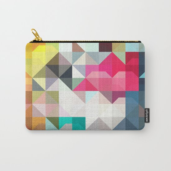 color story - pixelated warfare Carry-All Pouch