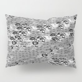 Flowers and Textiles Pillow Sham