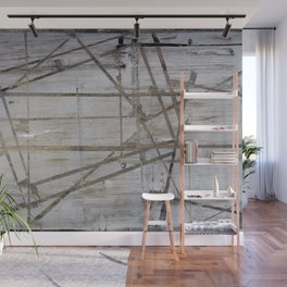 Tape Marks Wall Mural